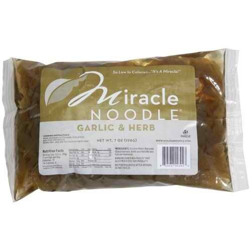 Miracle Garlic Herb Fettuccine Noodles (6x7 Oz)