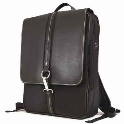 "16""Paris SlimLine Backpack Black"