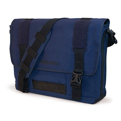 Eco-Friendly Canvas Messanger Navy