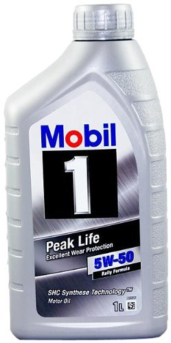 SYNTHETIC MOTOR OIL (5W50) 1 QUART, 6-PACK