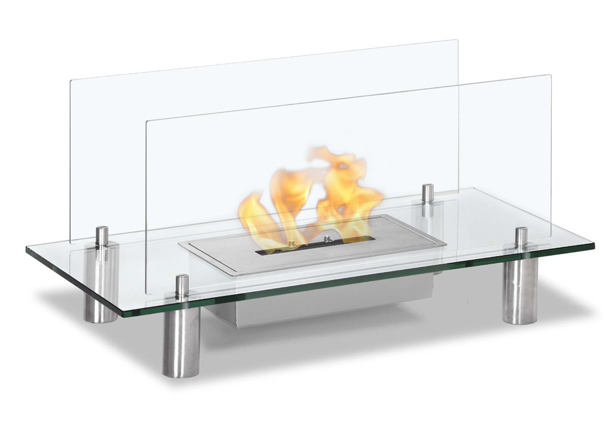 Baza Free Standing Floor Indoor/Outdoor Ethanol Fireplace