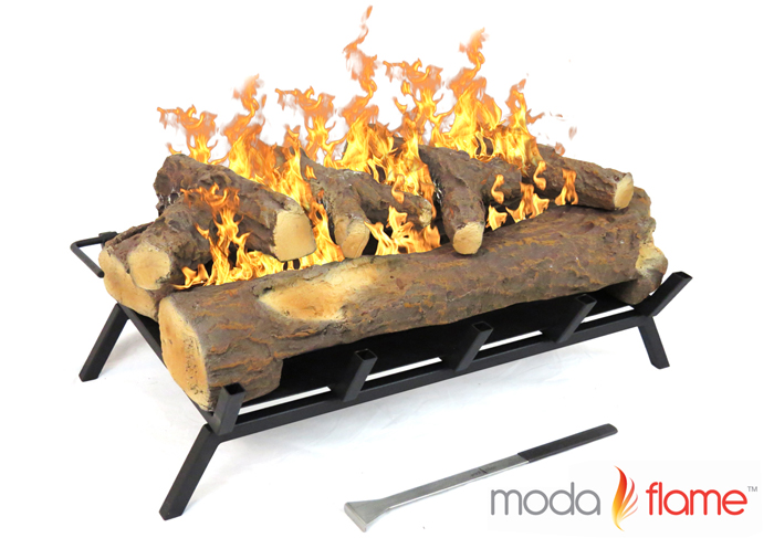 "24"" Convert to Ethanol Gas Log Fireplace Burner Insert"