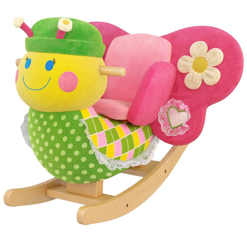 Anastasia the Butterfly Kids' Rocker with Music