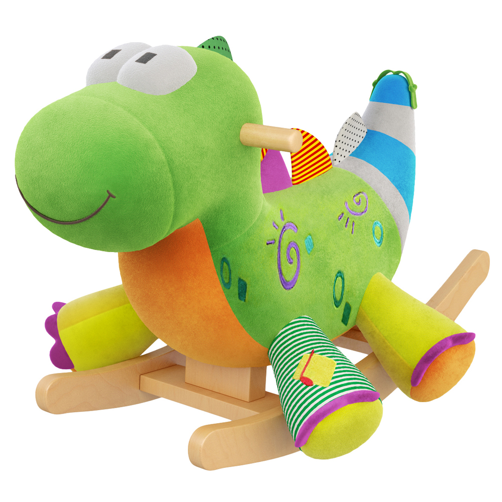 Alex the Dragon Kids' Rocker with Music