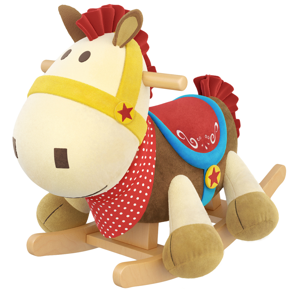 Frank the Horse Kids' Rocker with Music