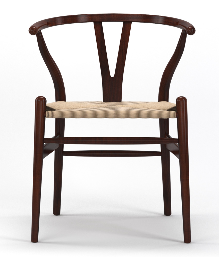 Timber Accent Dining Chair in Brown