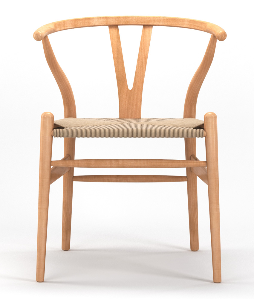 Timber Accent Dining Chair in Natural