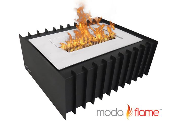 1.5 Liter PRO Ventless Bio Ethanol Fireplace Grate Burner Insert