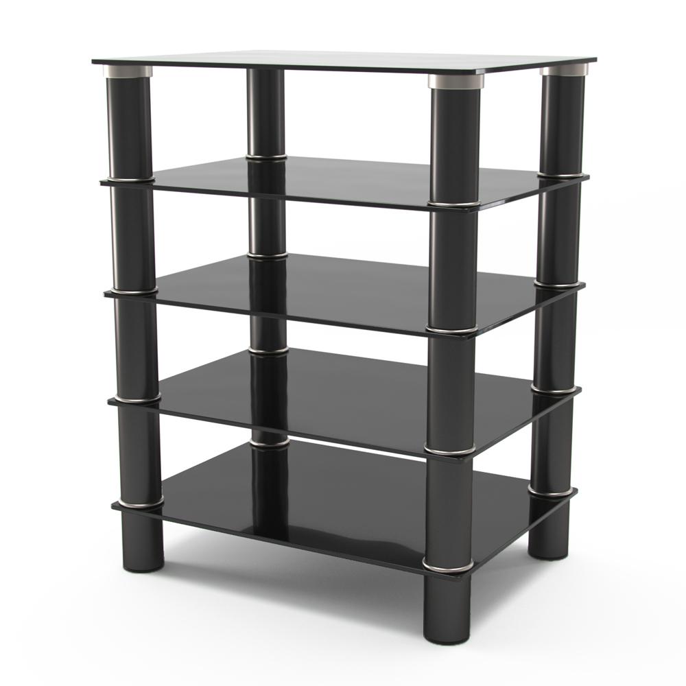 Hamlin Glass Component Stand in Black