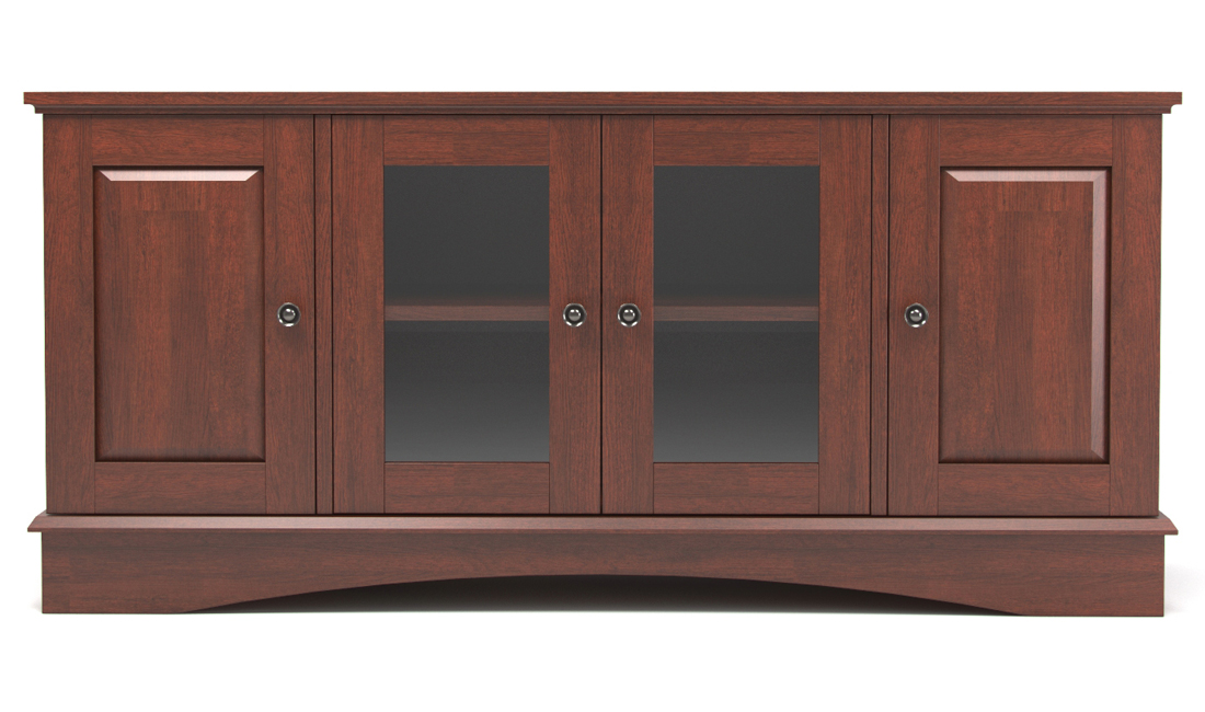 "Soho 52"" TV Console in Brown"