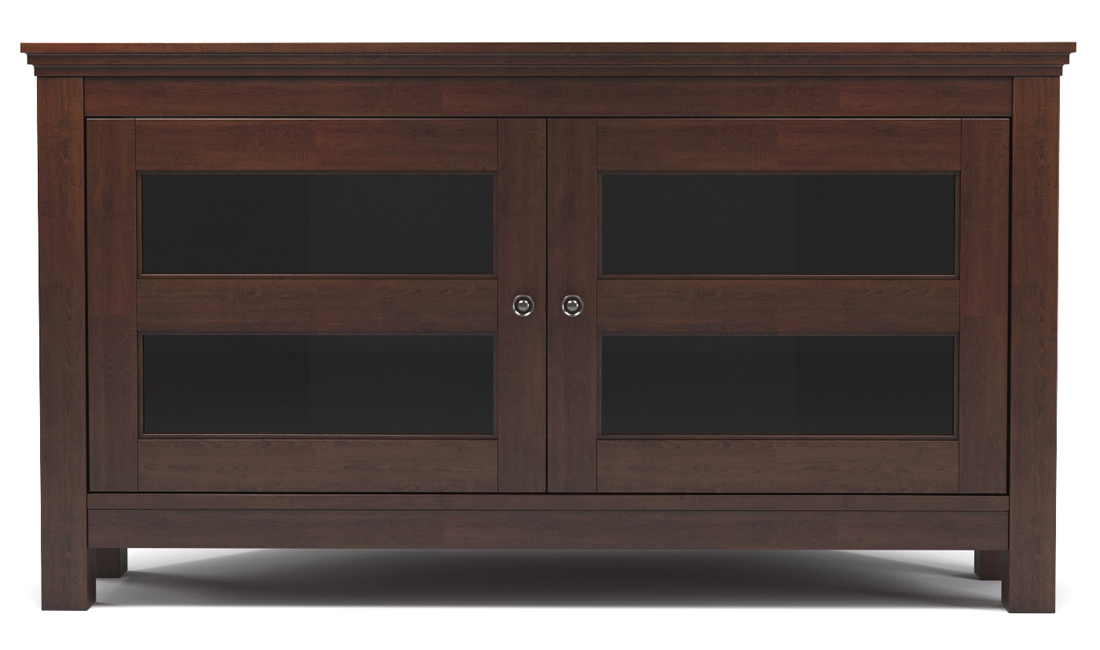 Axel 44 Inch Corner TV Console - Brown