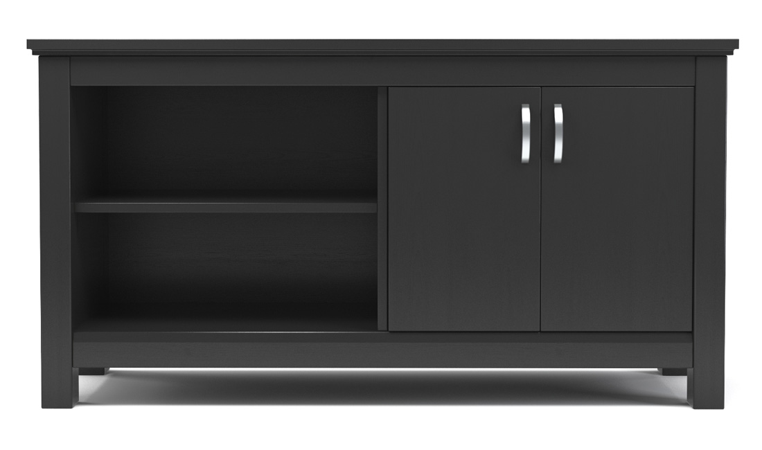 "Finley 44"" TV Console in Black"