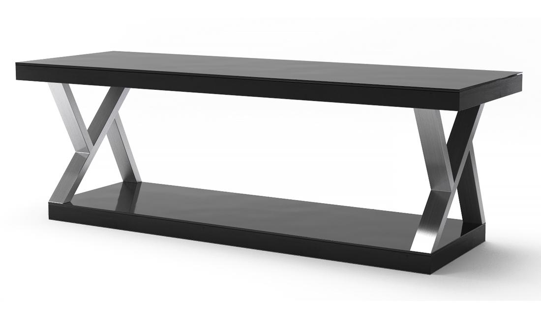 Hayden Double V Design 60 Inch Modern TV Stand