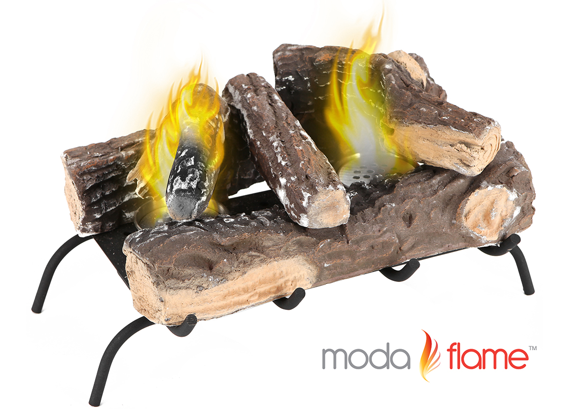 Convert to Ethanol Log Fireplace Burner Insert