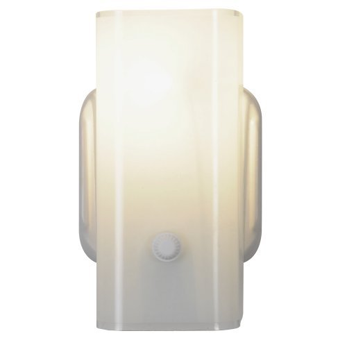 "ROYAL COVE WALL LIGHT FIXTURE, 7-1/2"", WHITE, USES 1 75-WATT INCANDESCENT MEDIUM BASE BULB"