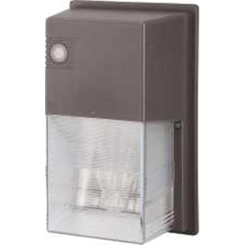 Monument Energy-Efficient Wall Floodlight, Bronze, 6-3/4X11X5-1/4 In., 1 70-Watt High-Pressure Sodium Lamp Included