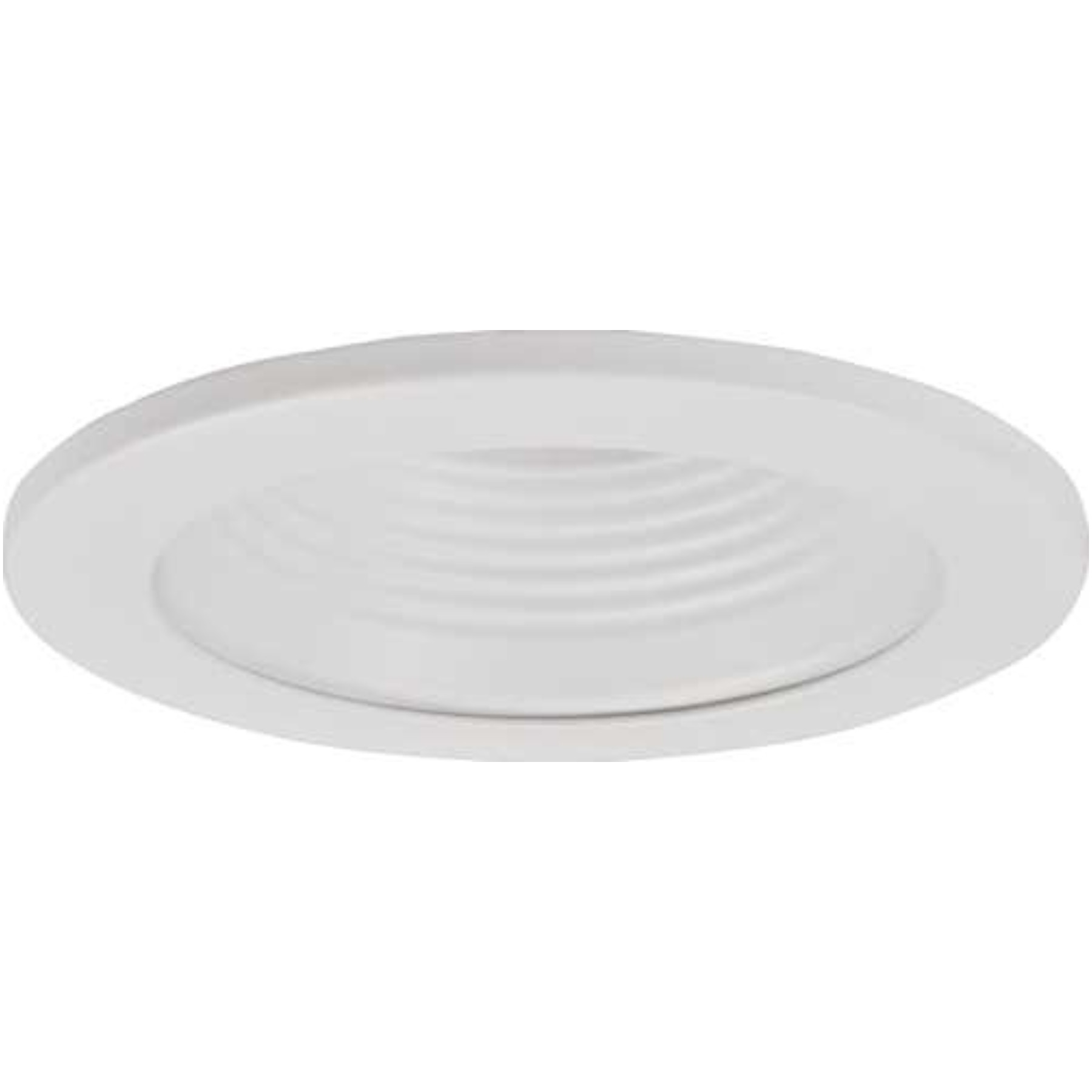 "MONUMENT RECESSED LIGHTING UNIVERSAL 4"" LOW VOLTAGE WHITE BAFFLE WITH WHITE TRIM RINGS INCLUDES CLEAR GLASS LENS"