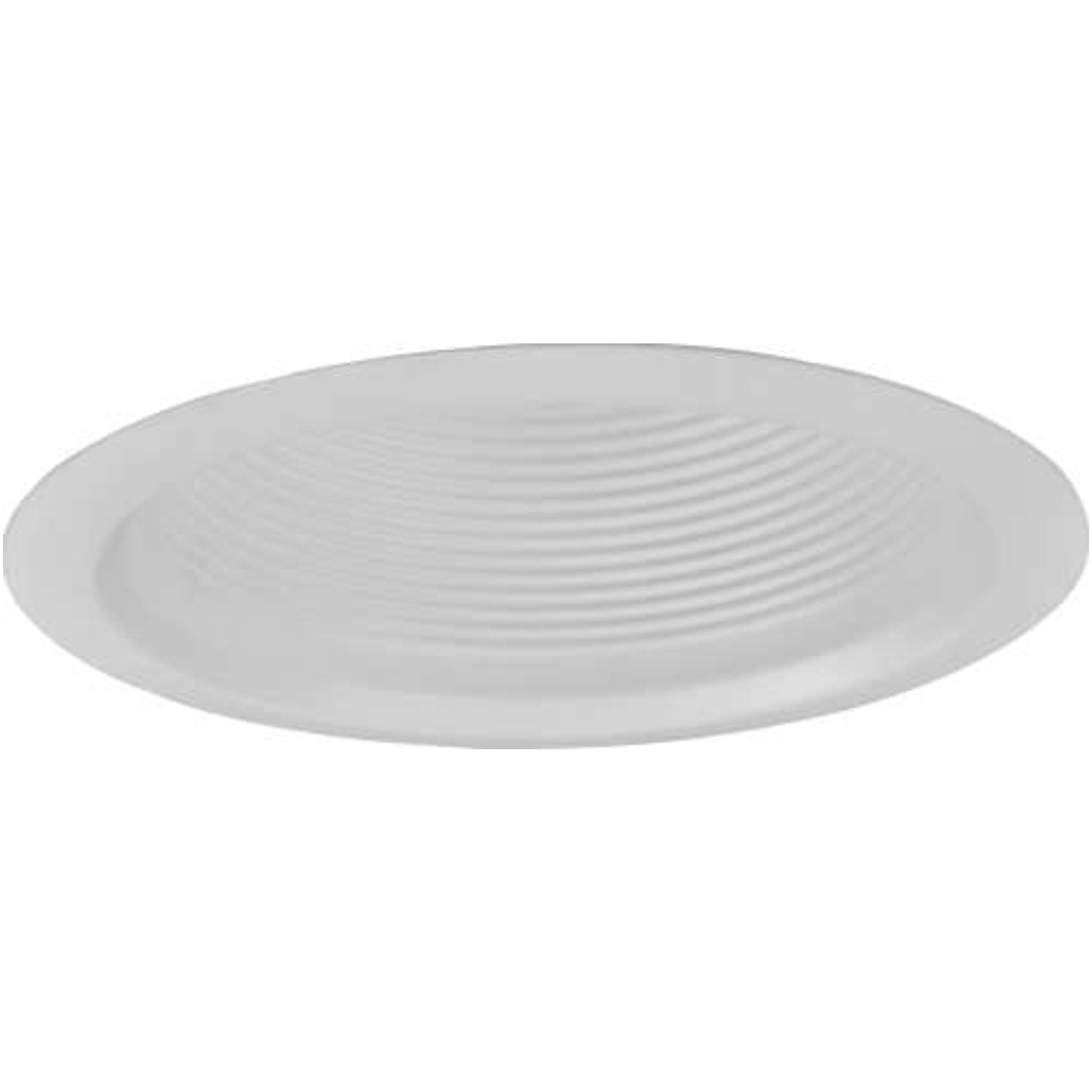 MONUMENT RECESSED LIGHTING 5 IN. WHITE METAL BAFFLE WITH WHITE METAL TRIM RING