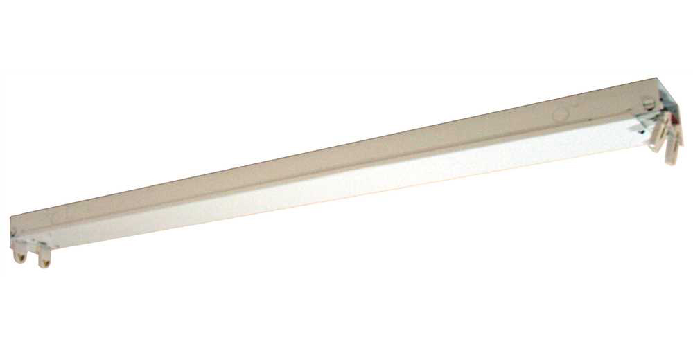 FLUORESCENT INDOOR DOUBLE STRIP LIGHT 48 IN.