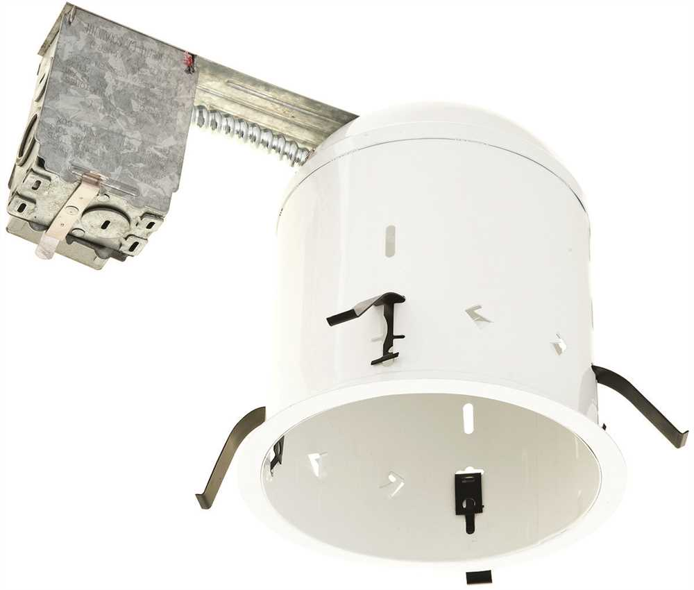 "Monument 6"" Non-Ic Rated Remodel Housing, Uses 1 13-Watt Compact Fluorescent Lamp*"