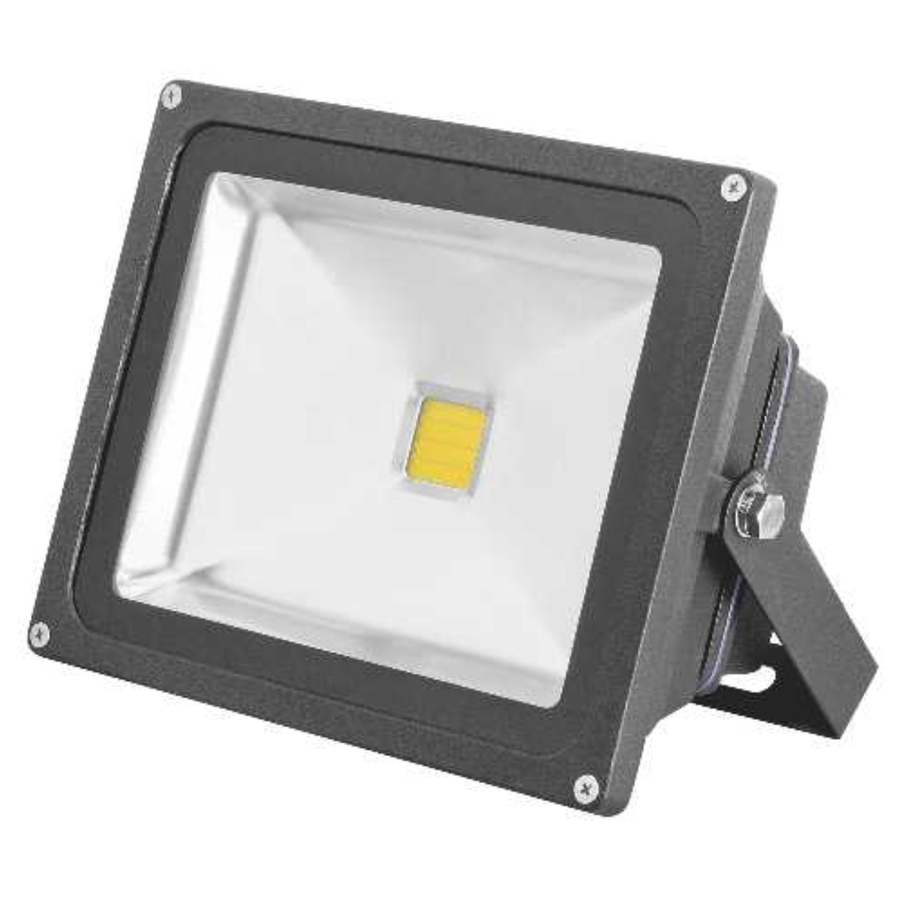 MONUMENT LED FLOODLIGHT WITH ALUMINUM HOUSING, BRONZE, 3-3/8X4-1/2X2-15/16 IN., 1 30-WATT LAMP (INCLUDED)