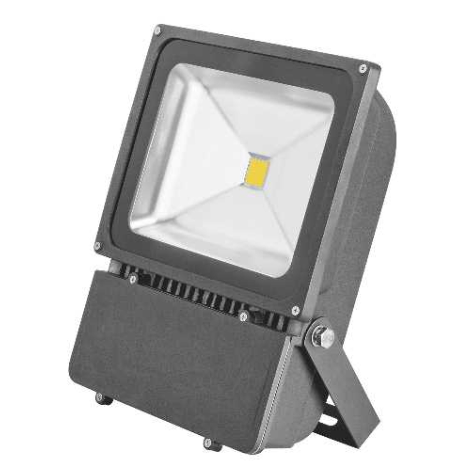 MONUMENT LED FLOODLIGHT WITH ALUMINUM HOUSING, BRONZE, 9-3/16X11-3/16X5-3/16 IN., 1 100-WATT LAMP (INCLUDED)