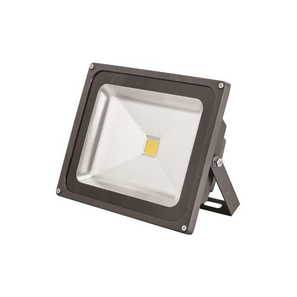 MONUMENT LED FLOODLIGHT WITH ALUMINUM HOUSING, BRONZE, 9-3/16X11-3/16X5-3/16 IN, 50-WATT LED INTEGRATED PANEL ARRAY INCLUDED