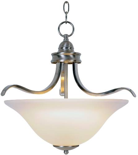 SANIBEL� PENDANT CEILING FIXTURE, MAXIMUM THREE 60 WATT INCANDESCENT MEDIUM BASE BULBS, 17-1/2 IN., BRUSHED NICKEL