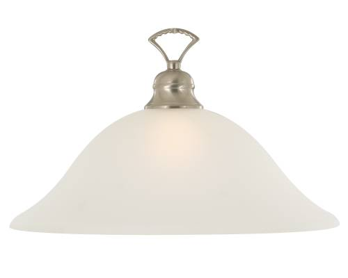 WELLINGTON� PENDANT CEILING FIXTURE, MAXIMUM ONE 60 WATT INCANDESCENT MEDIUM BASE BULB, 16 IN., BRUSHED NICKEL