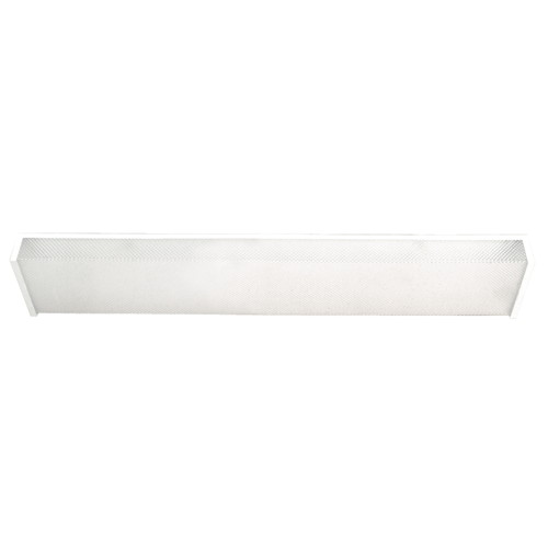 MONUMENT� FLUORESCENT WRAP AROUND LIGHT FIXTURE, USES TWO 17 OR 20 WATT LAMPS, 24 X 6-7/8 X 2-1/2""