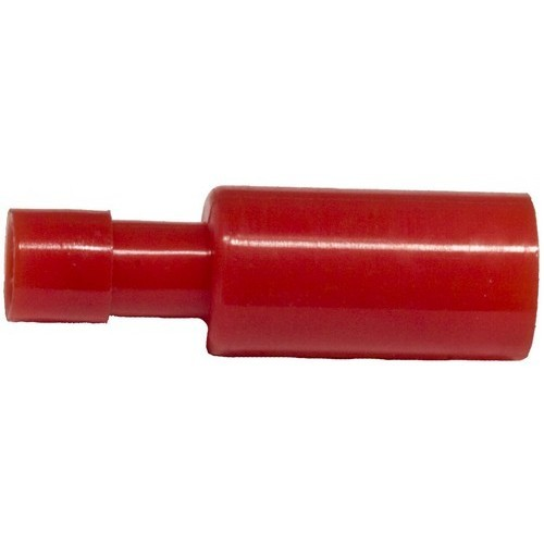 Nylon Fully Insulated Double Crimp Bullet Disconnects - 22-16 Wire, .157 Bullet
