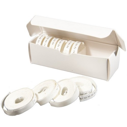 Wire Marker Refill Rolls 0-9 10 Pack