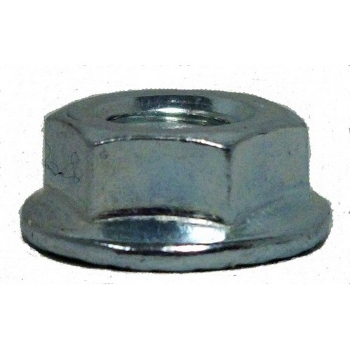 Flanged Hex Nuts - Captive Washer 3/8-16