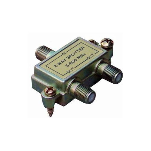 2 Way Splitters with Ground Block Digital 5-1000 Mhz