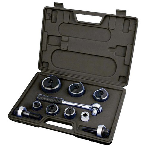 "Hole Punch Kit - Manual Ratcheting Tool 1/2"" to 2"""
