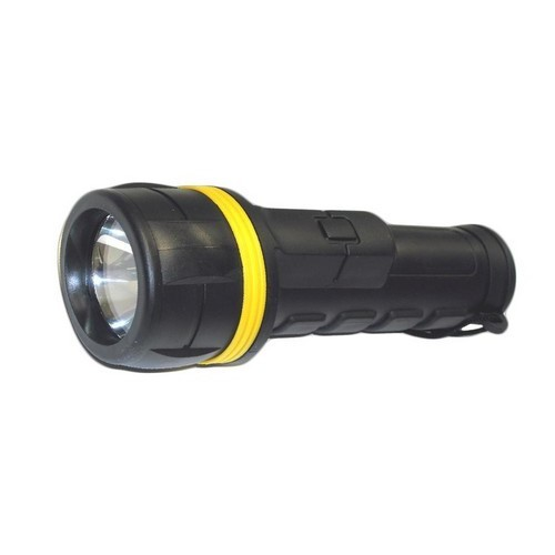 Rubberized Flashlight - 2D Batteries