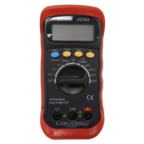 Autoranging Digital Multimeter with Rubber Holster