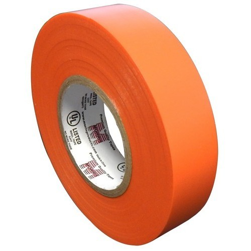 "Vinyl Plastic Electrical Tape 7MIL X 3/4"" X 60' PVC Orange"
