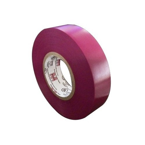 "Vinyl Plastic Electrical Tape 7MIL X 3/4"" X 60' PVC Purple"