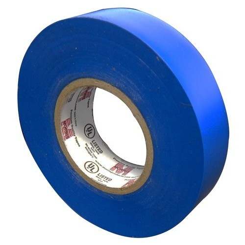 "7 Mil Professional Grade Vinyl Electrical Tape Blue 3/4"" X 66'"