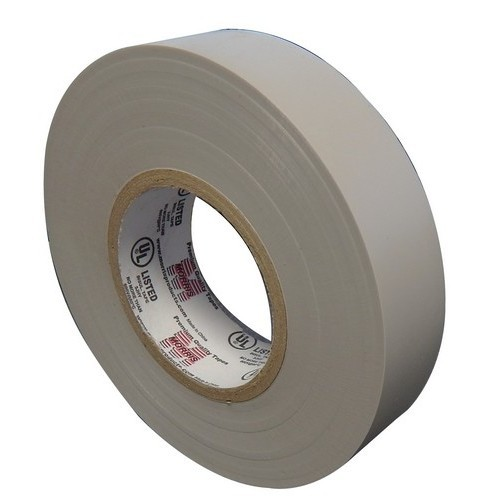 "7 Mil Professional Grade Vinyl Electrical Tape Gray 3/4"" X 66'"