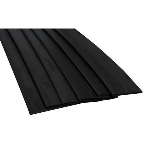 "Thin Wall Heat Shrink Tubing .484""-.234""  6"" Black"