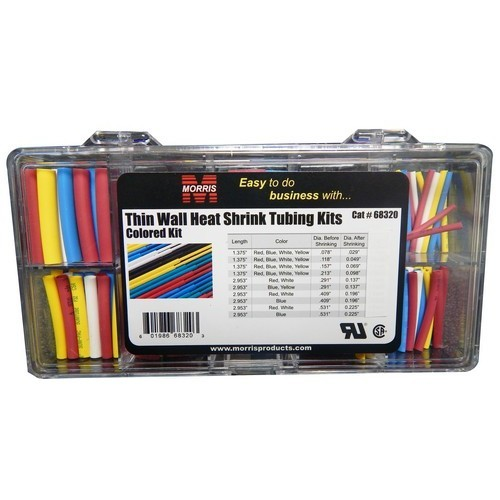 Thin Wall Heat Shrink Tubing Kits - Colors