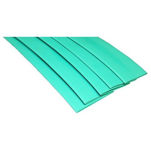 "Thin Wall Heat Shrink Tubing .484""-.234""  6"" Green"