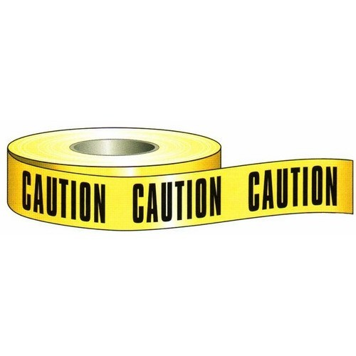 "Barricade Caution Tape 3"" X 1000'"