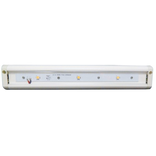 "LED Under Cabinet Light 3000K 12"" LED White Hardwire Or Plug-In Dimmable"