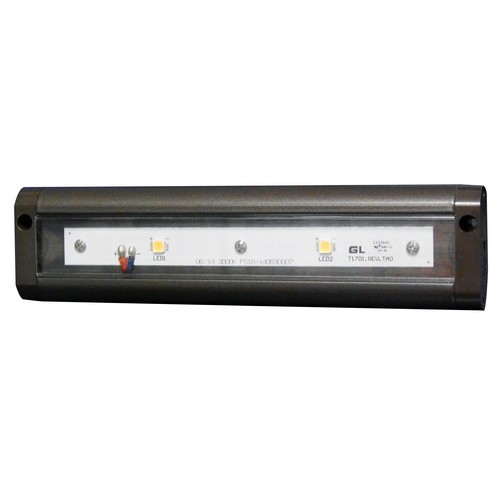 "LED Under Cabinet Light 3000K 8"" LED Bronze Hardwire Or Plug-In Dimmable"