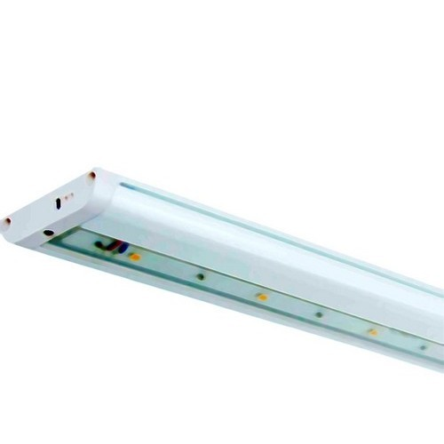 "LED Under Cabinet Light 4700K 18"" White Hardwire Or Plug-In Dimmable"