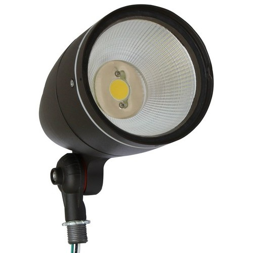 LED Bullet Flood Light 12 Watt 3000K 120-277V Bronze