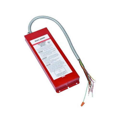 Fluorescent Emergency Lighting Ballast 3000 Lumens T8-T12